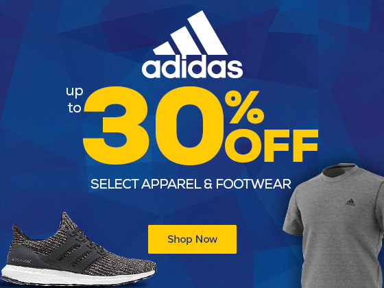 Select Adidas Apparel & Footwear Up to 25% Off