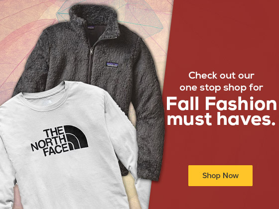 Check out our one stop shop for Fall Fashion must haves.