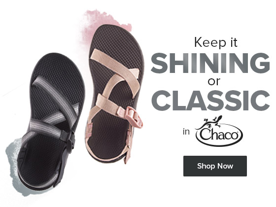 Keeping it shining in Chaco's hottest new trend - Metallics!