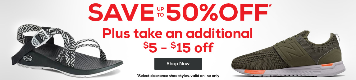 Don't miss out. $25 off a pair of select shoes valued at $100+