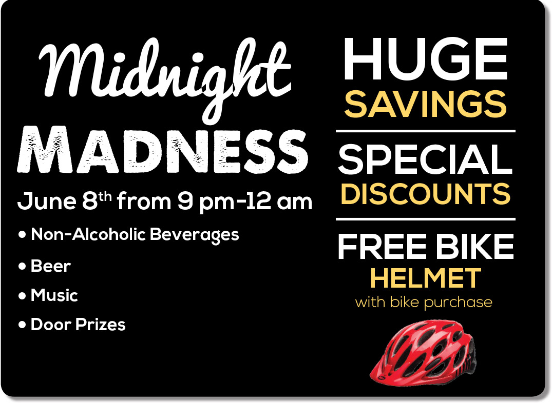 Midnight Madness - June 8, 2018 at 9 PM