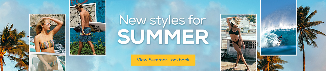 New styles for summer.