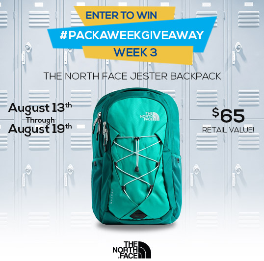 Enter to win The North Jester Backpack