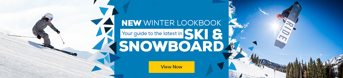 New Winter Lookbook. Your guide to the latest in Ski and Snowboard.