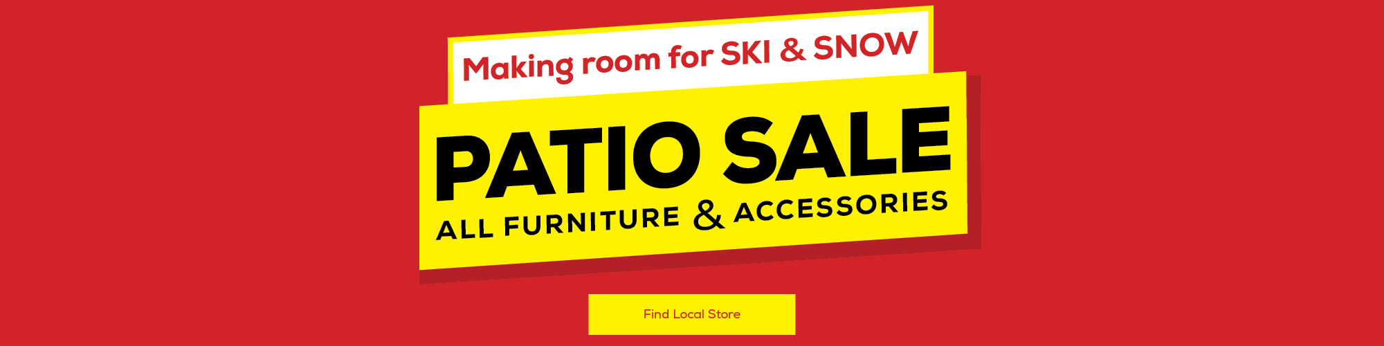 Patio Furniture Summer Clearance
