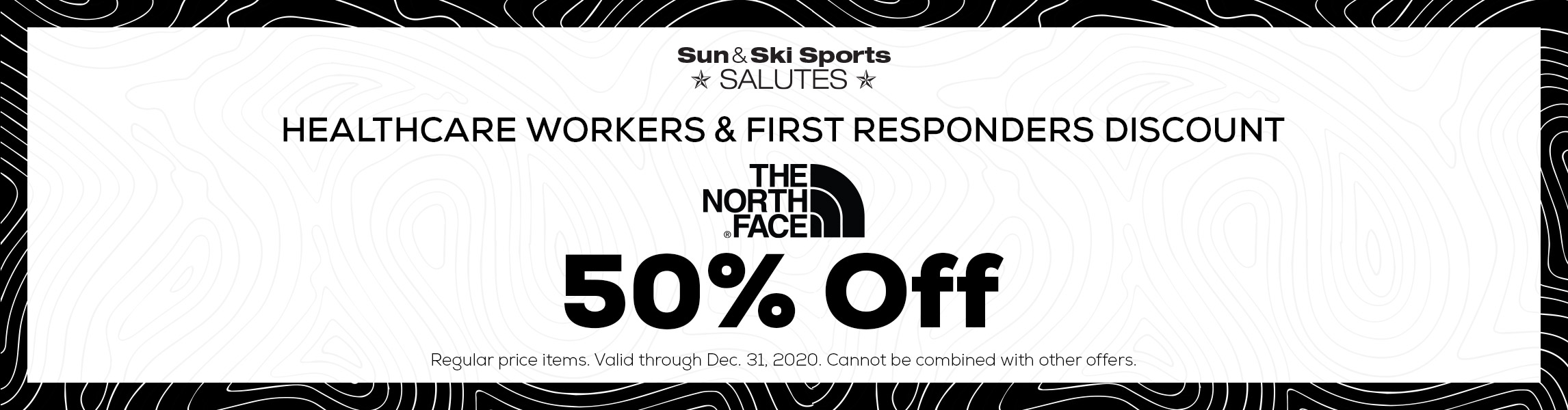 50% Off The North Face