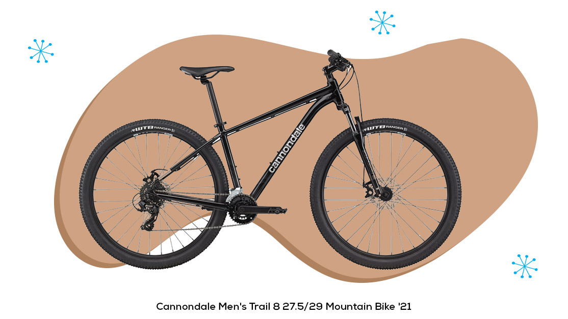 Cannondale Men's Trail 8 27.5/29 Mountain Bike '21