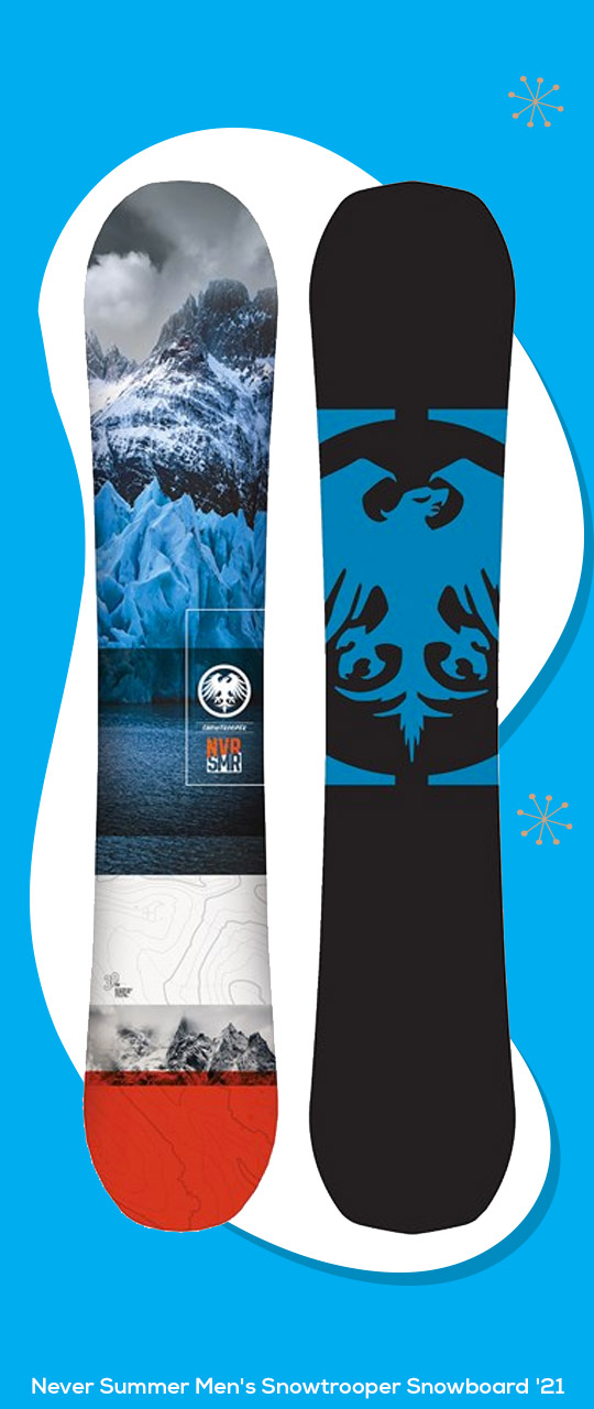 Never Summer Men's Snowtrooper Snowboard '21