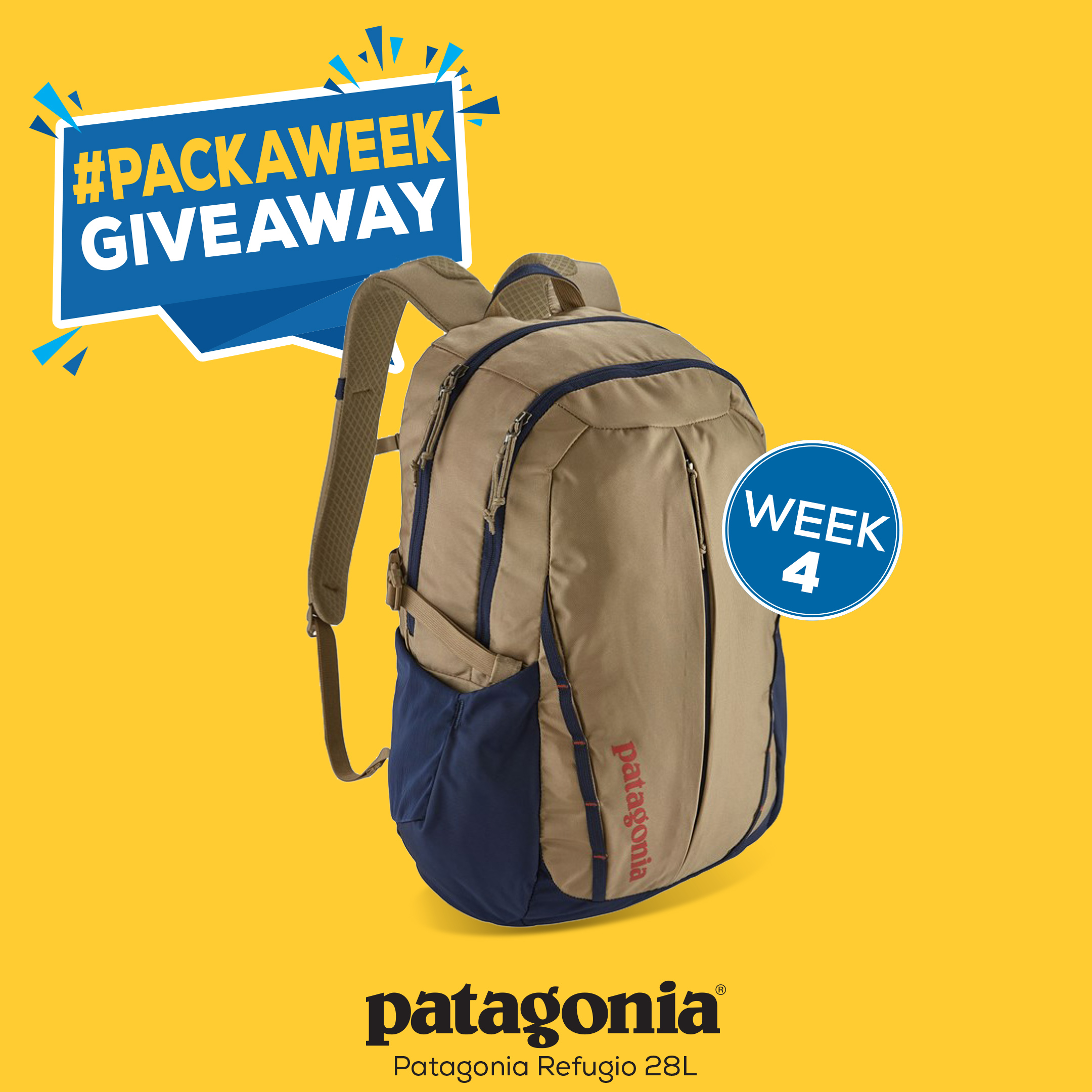 Enter to win Patagonia Refugio Backpack