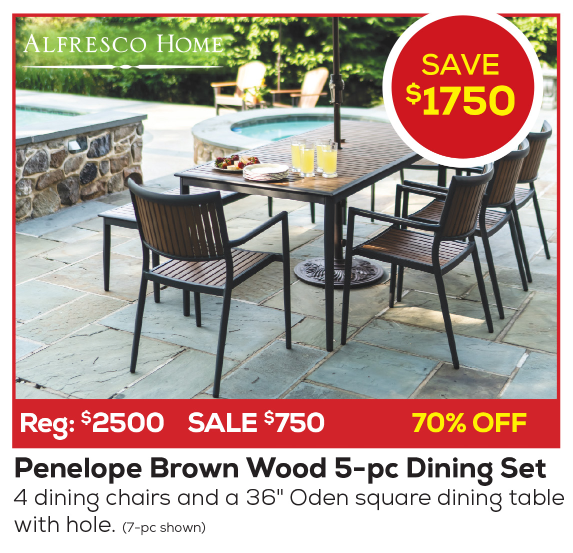 Alfresco Home Deals