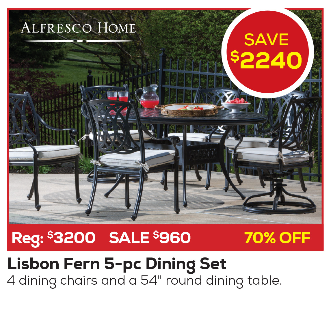 Alfresco Dining Deals