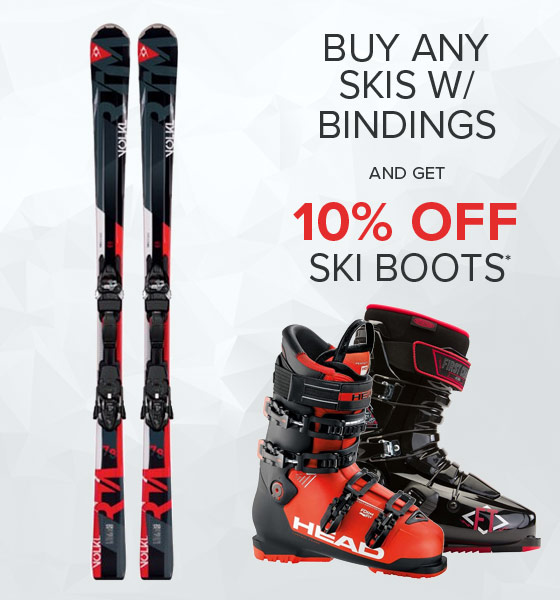 Shop Skis with Binding ans Ski Boots