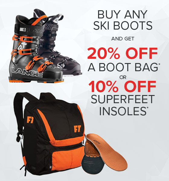 Shop Skis Boot Bags and Superfeet Insoles