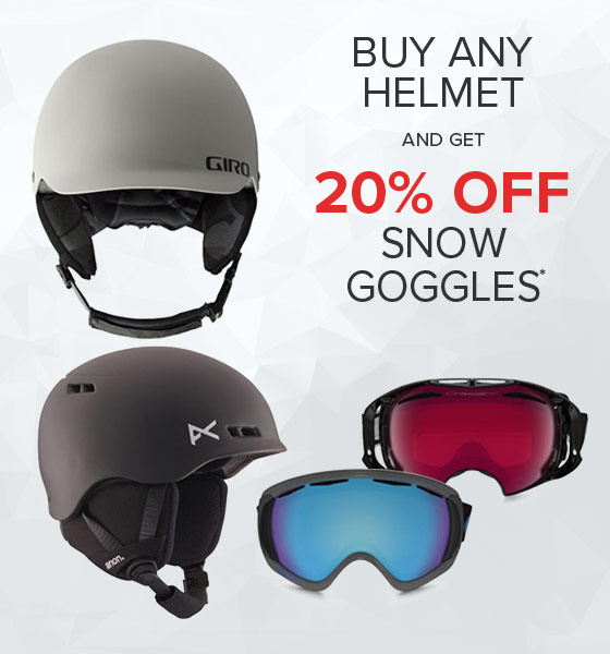 Shop Snow Helemts and Goggles