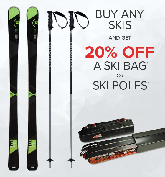 Shop Skis Bags and Ski Poles