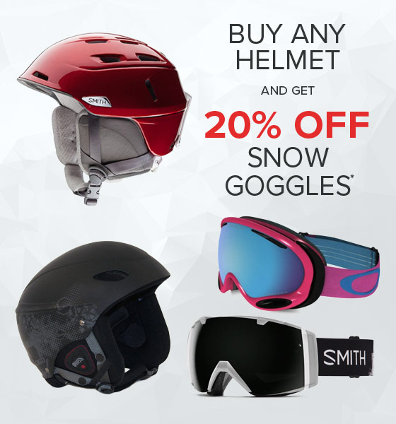 Shop Snow Helemts Goggles