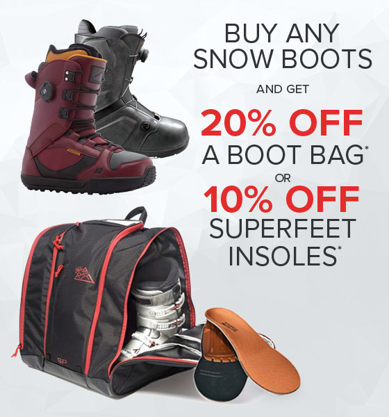 Shop Snow Boots, Bags and Superfeet Insole