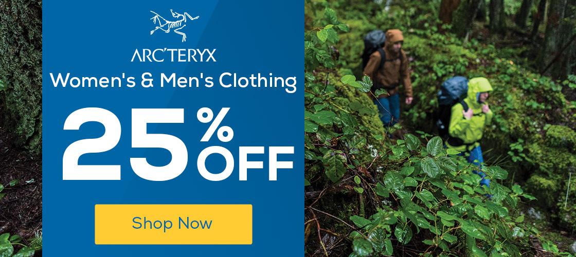 Arc'teryx Women's & Men's Clothing 25% Off