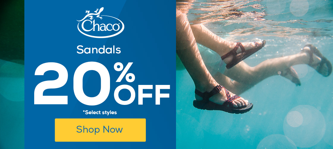 Chaco Sandals 25% Off