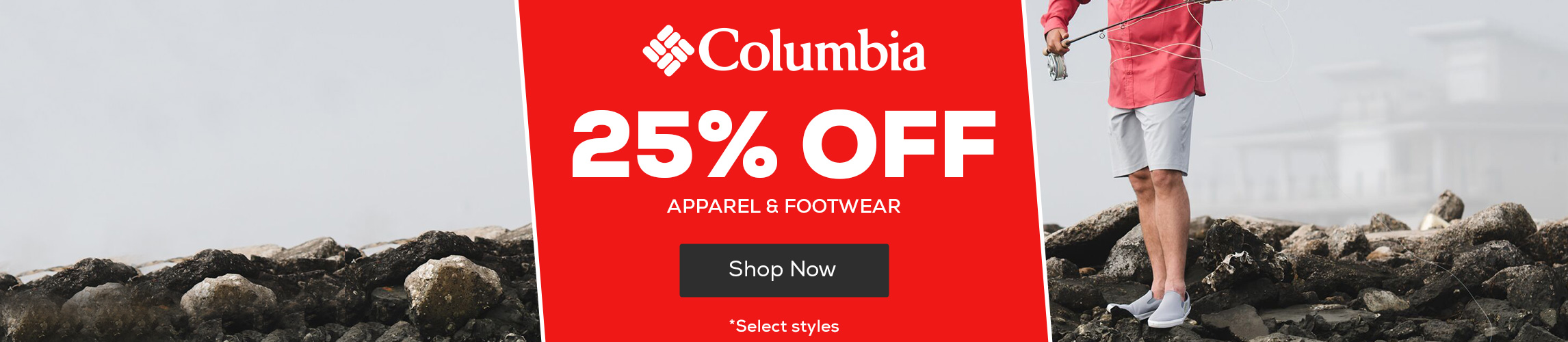 Columbia Apparel & Footwear 25% Off  *select styles