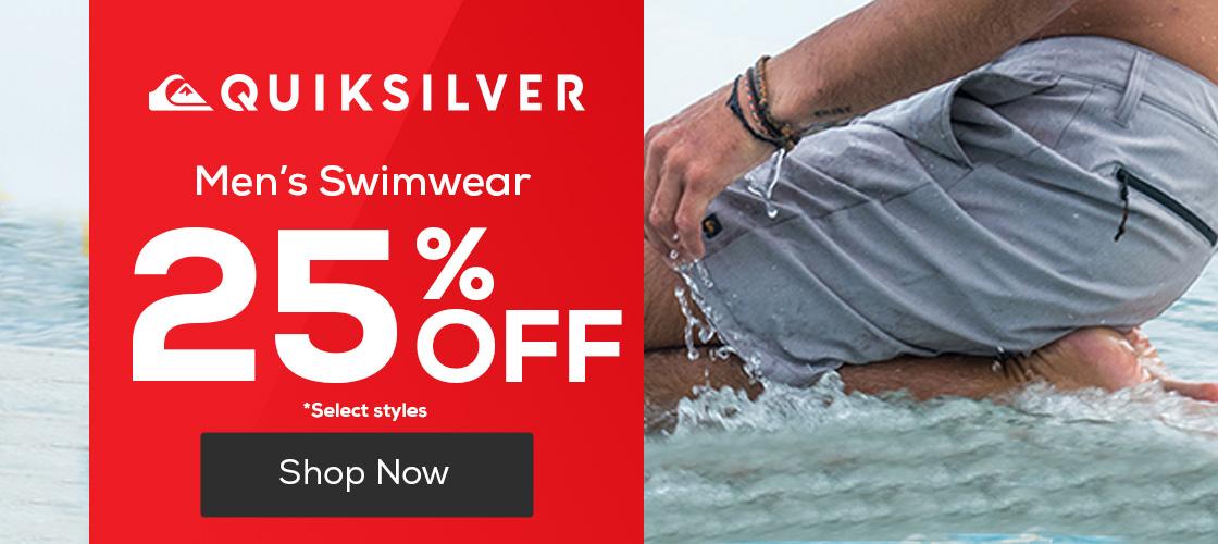 Men's Swimwear 25% Off