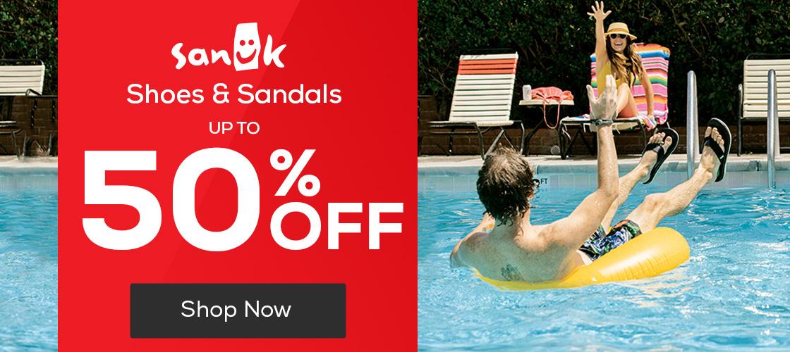 Sanuk Shoes & Sandals 20% Off