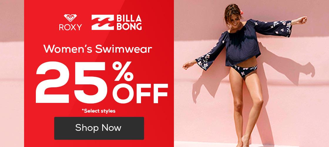 Women's Swimwear 25% Off