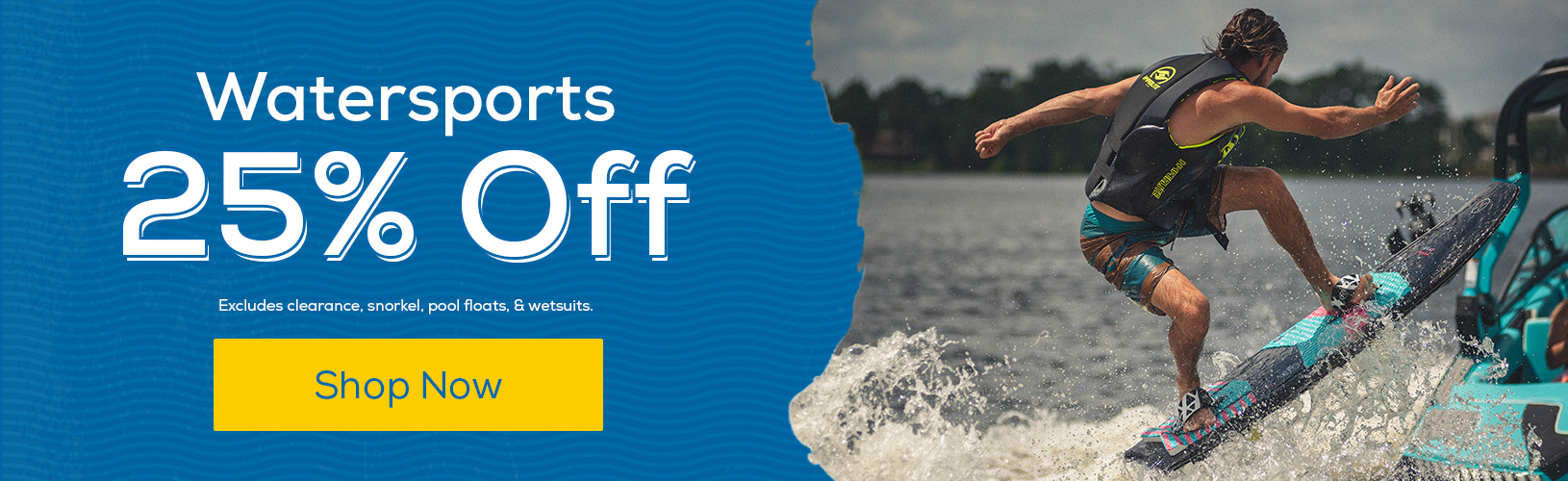 Watersports 25% Off