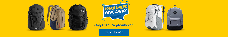 Pack A Week Giveaway