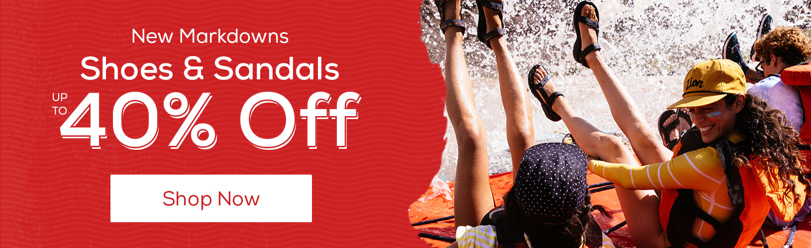 New Markdowns. Shoes & Sandals Up to 40% Off