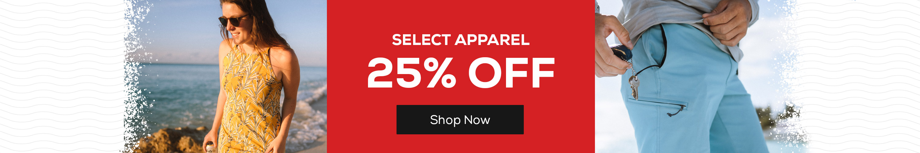 Select Apparel 25% Off