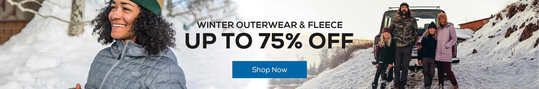 Winter Outerwear & Fleece Up to 75% Off