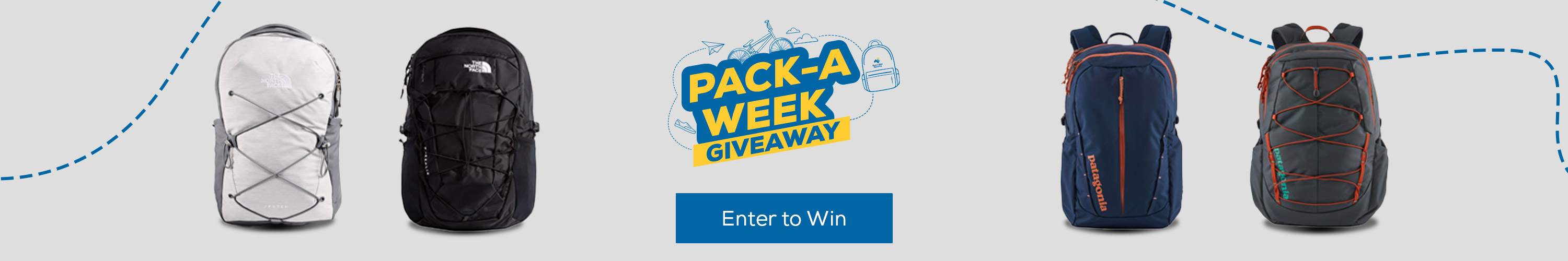 Pack-a-Week Giveaway. Enter to win.