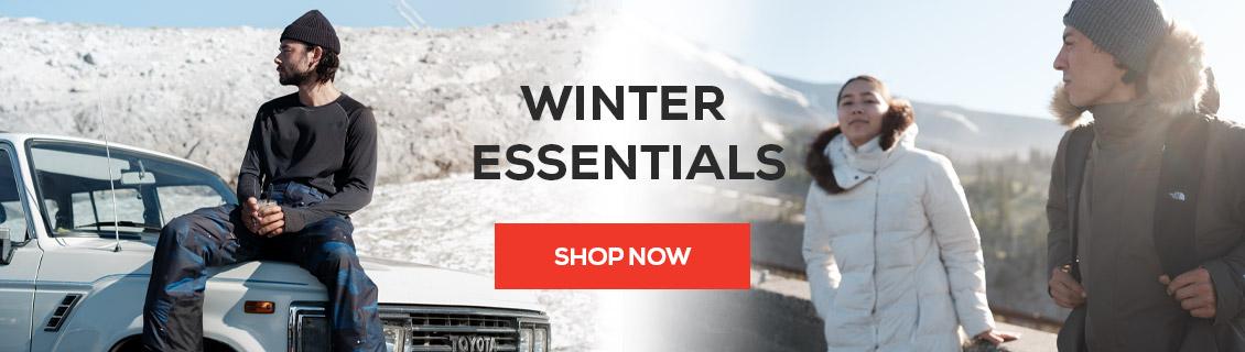 Shop The North Face Winter Essentials