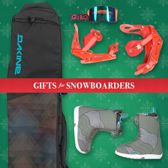 Shop Gifts for Snowboarders