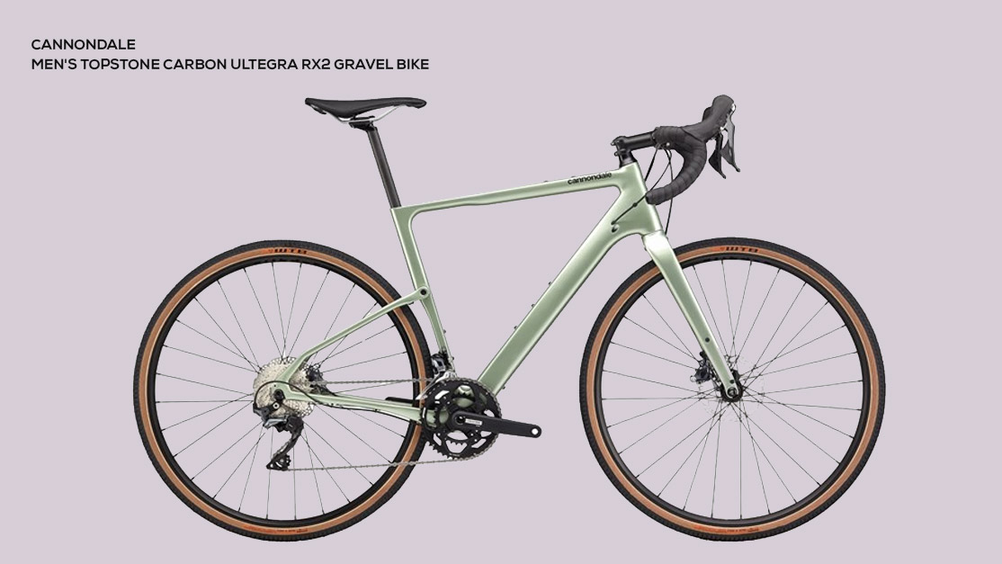 Cannondale Men's Topstone Carbon Ultegra RX2 Gravel Bike '20