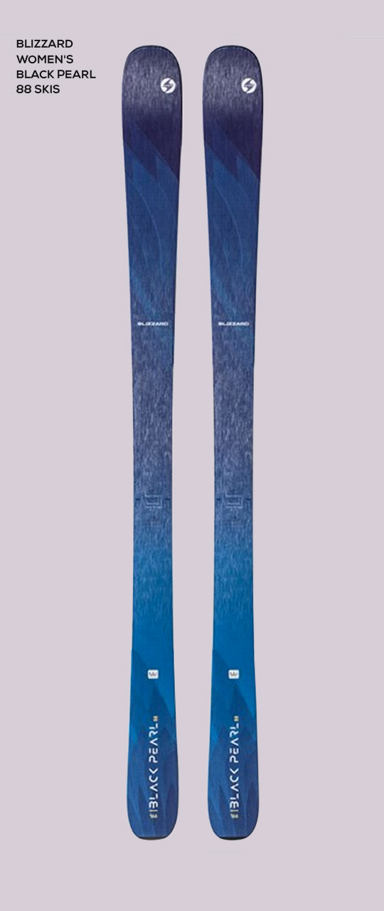 Blizzard Women's Black Pearl 88 Skis '20