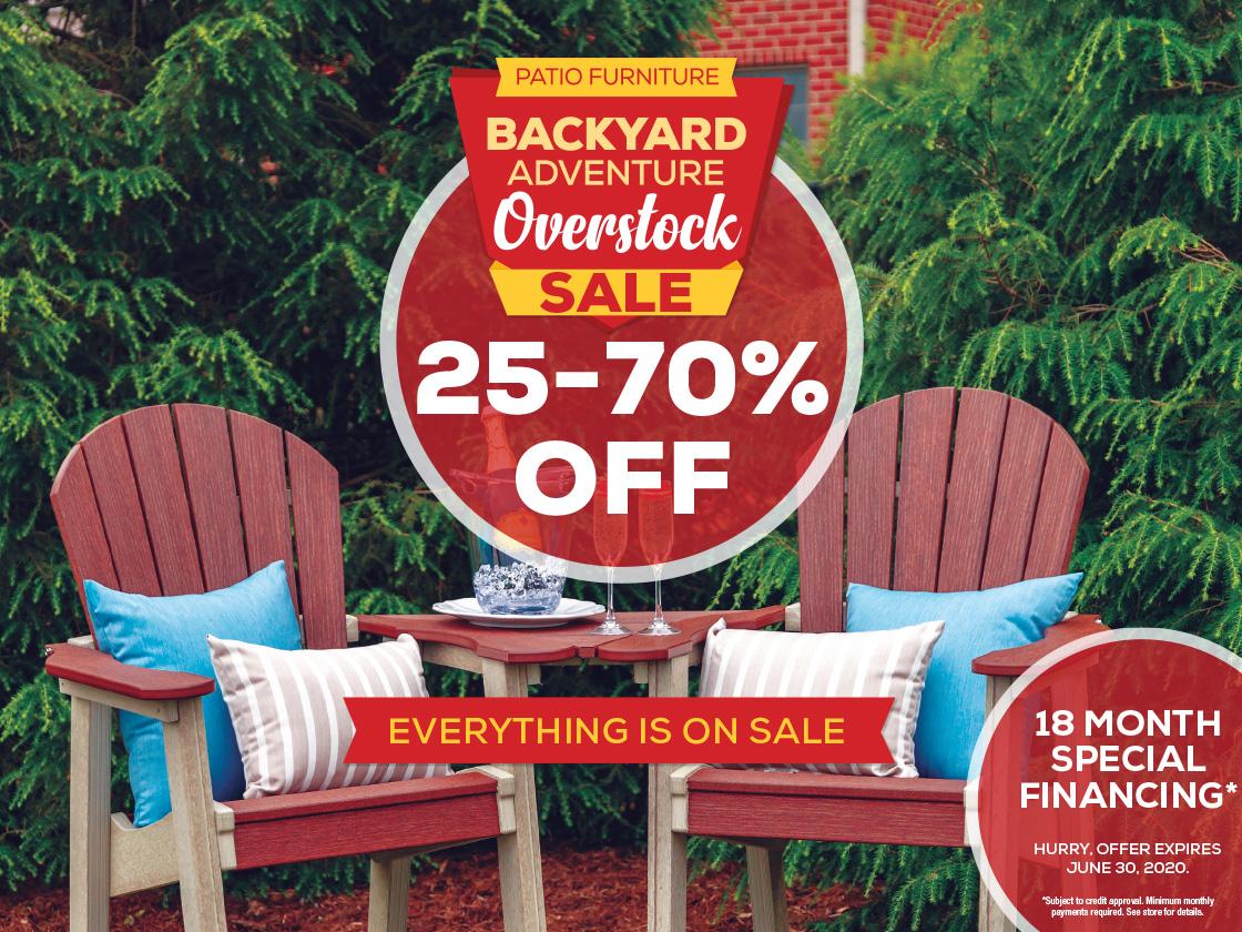 Patio Overstock Sale