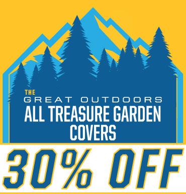 30% off all Treasure Garden Covers