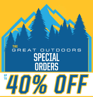 Up To 40% Off Special Orders