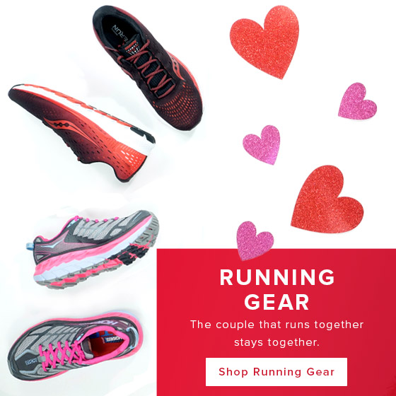 The couple that runs together stays together. Shop running gear.