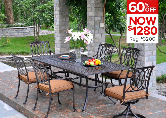 60% Off Mayfair 5 Piece Dining. Now $1,280