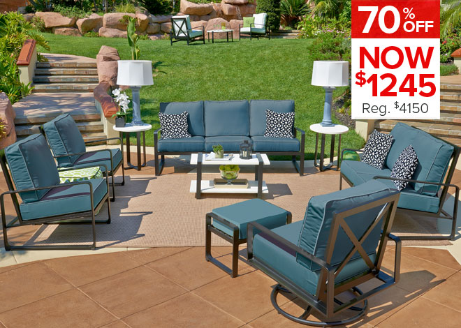70% Off North Haven 4 Piece Deep Seating. Now $1,245