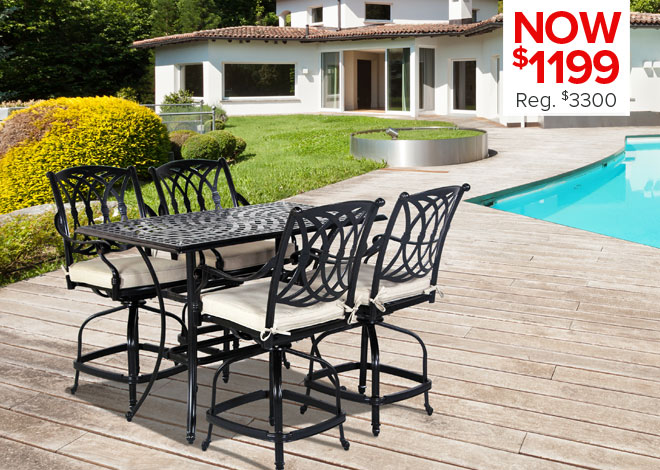 70% Off St. Thomas 5 Piece Dining. Now $480