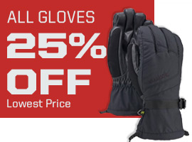 All gloves 25% off. Lowest Price.