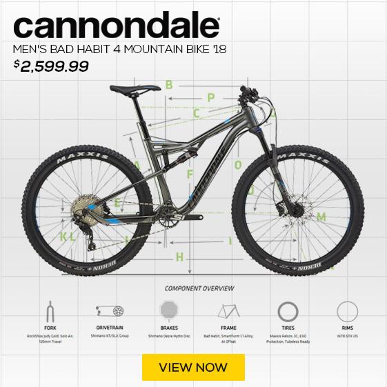 Cannondale Men's Bad Habit 4 Mountain Bike '18