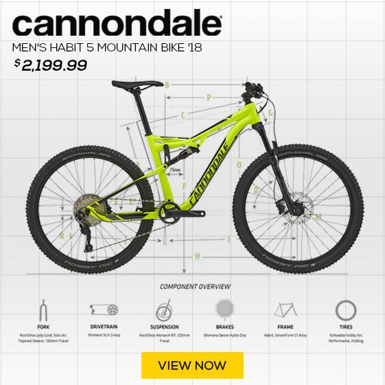 Cannondale Men's Bad Habit 5 Mountain Bike '18