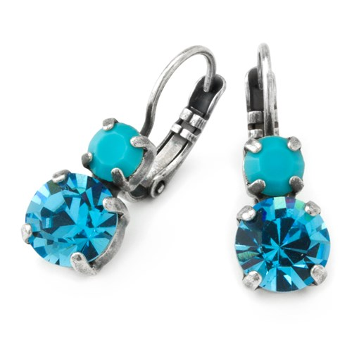 Mariana Bright Blue Earrings