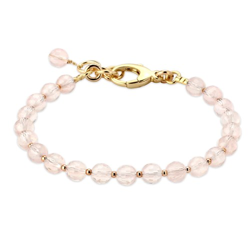 Lollies Rose Quartz Bracelet