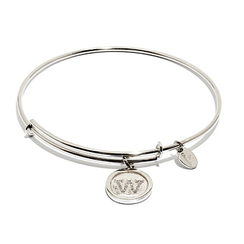 Chrysalis Initial W Bangle Bracelet